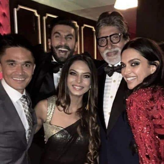 All The Inside Pics From Ranveer Deepika's Bollywood Reception Proves It Was One Heck Of A Party
