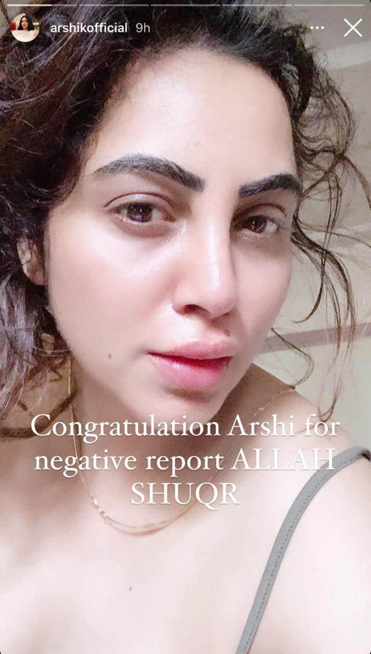 Arshi Khan Feels Like A Free Bird Post Testing Negative For COVID-19; Reveals How She Spent Quarantine
