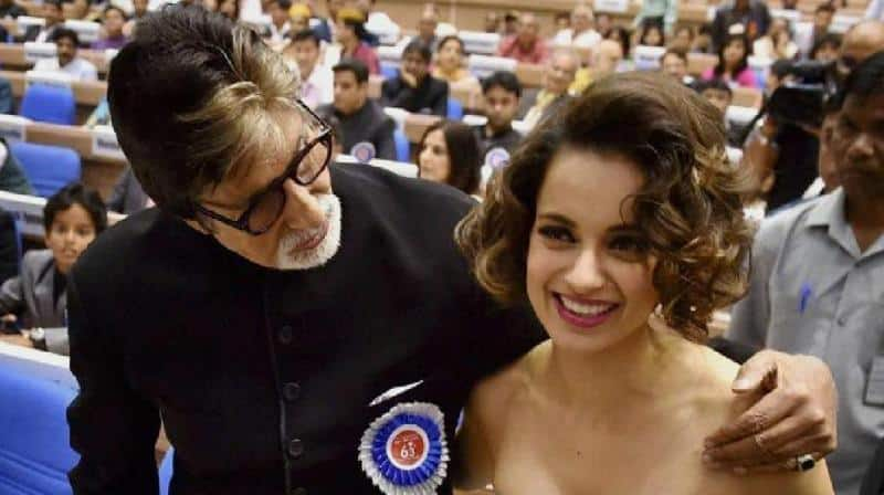 KBC 11: Amitabh Bachchan Crowns Kangana Ranaut As The Number One Actress Of The Country