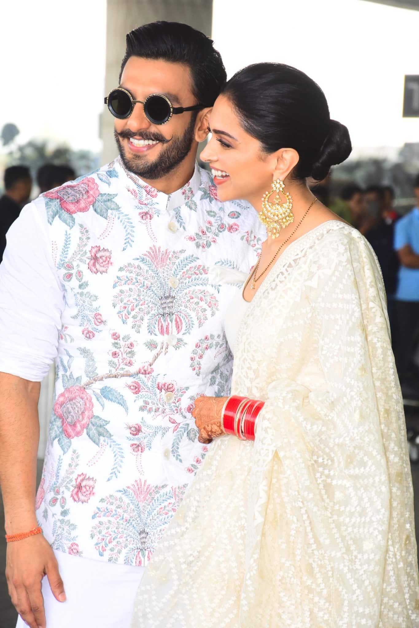 DeepVeer Wedding: दीपिका और रणवीर हुए बैंगलुरू के लिए रवाना, 21 नवम्बर को है पहला रिसेप्शन !