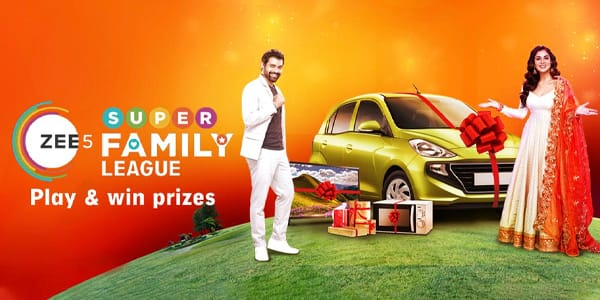 Create your very own ZEE5 Super Family and stand a chance to win exciting prizes!