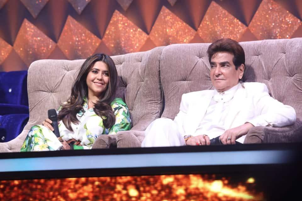 Indian Idol 12: Jeetendra And Daughter Ekta Kapoor Grace The Singing Reality Show