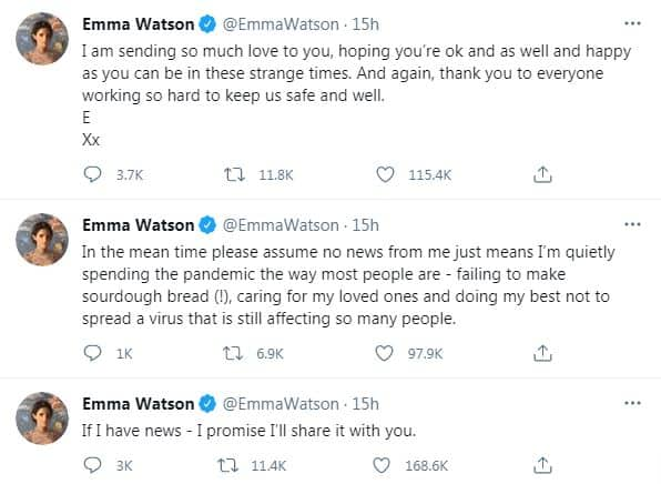 Emma Watson Is Not Engaged To Beau Leo Robinton, Reacts To Reports About Her 'Dormant' Career