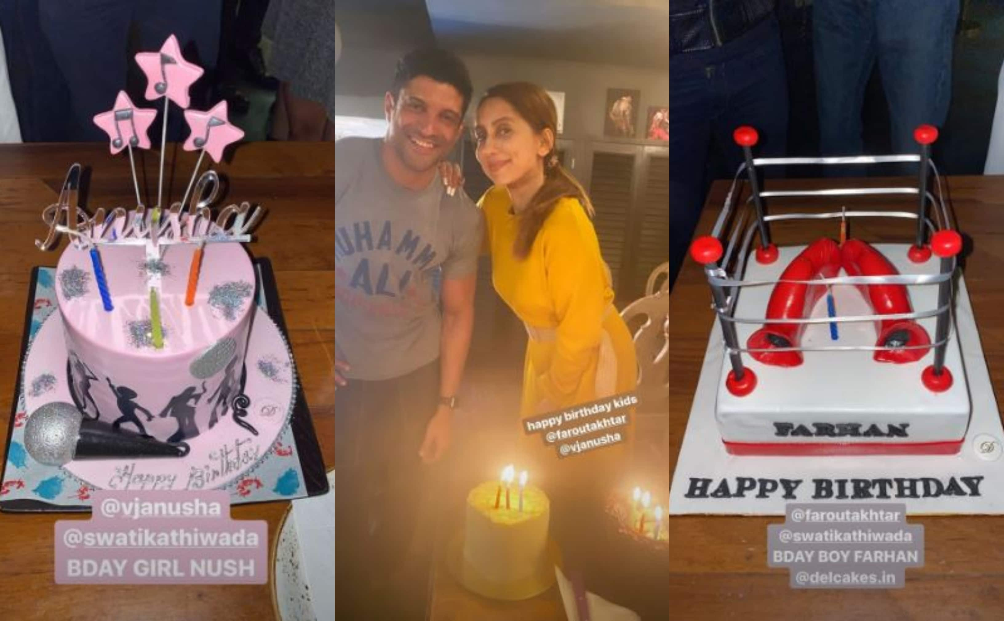 Shibani Dandekar's Romantic Birthday Post For Farhan Akhtar Is All About Late Night Walks With Jim Jam To Sessions In The Ring