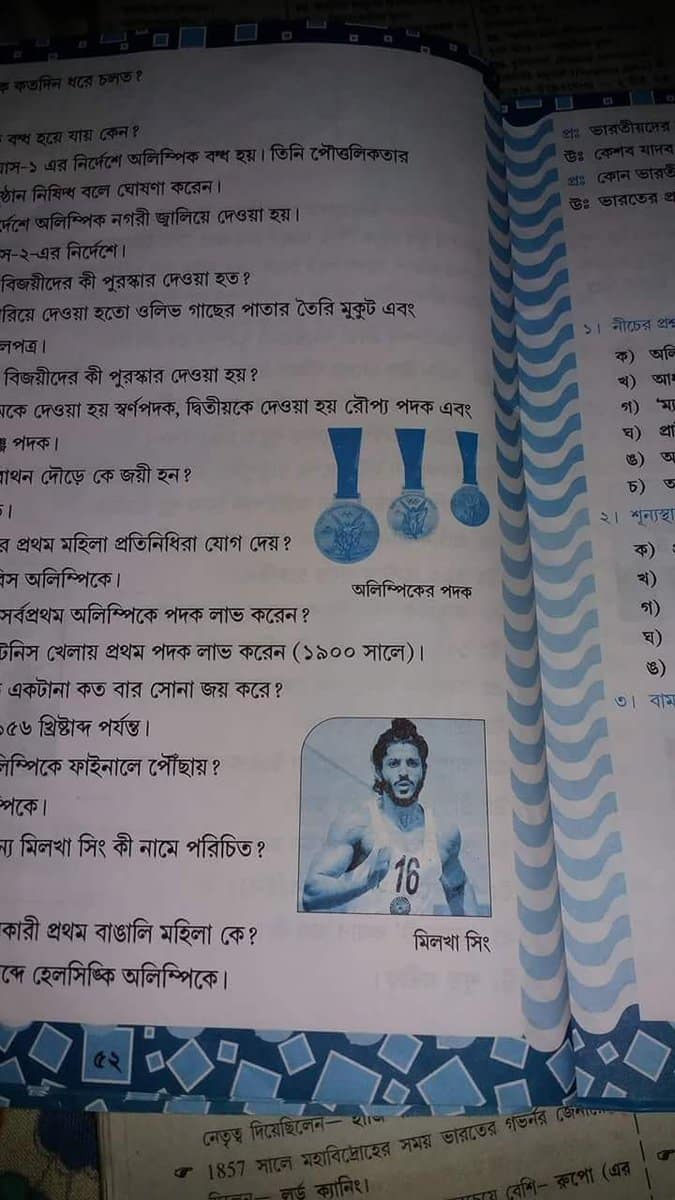 Comedy Of Errors: When West Bengal Textbook Put Farhan Akhtar's Picture Instead Of Milkha Singh!