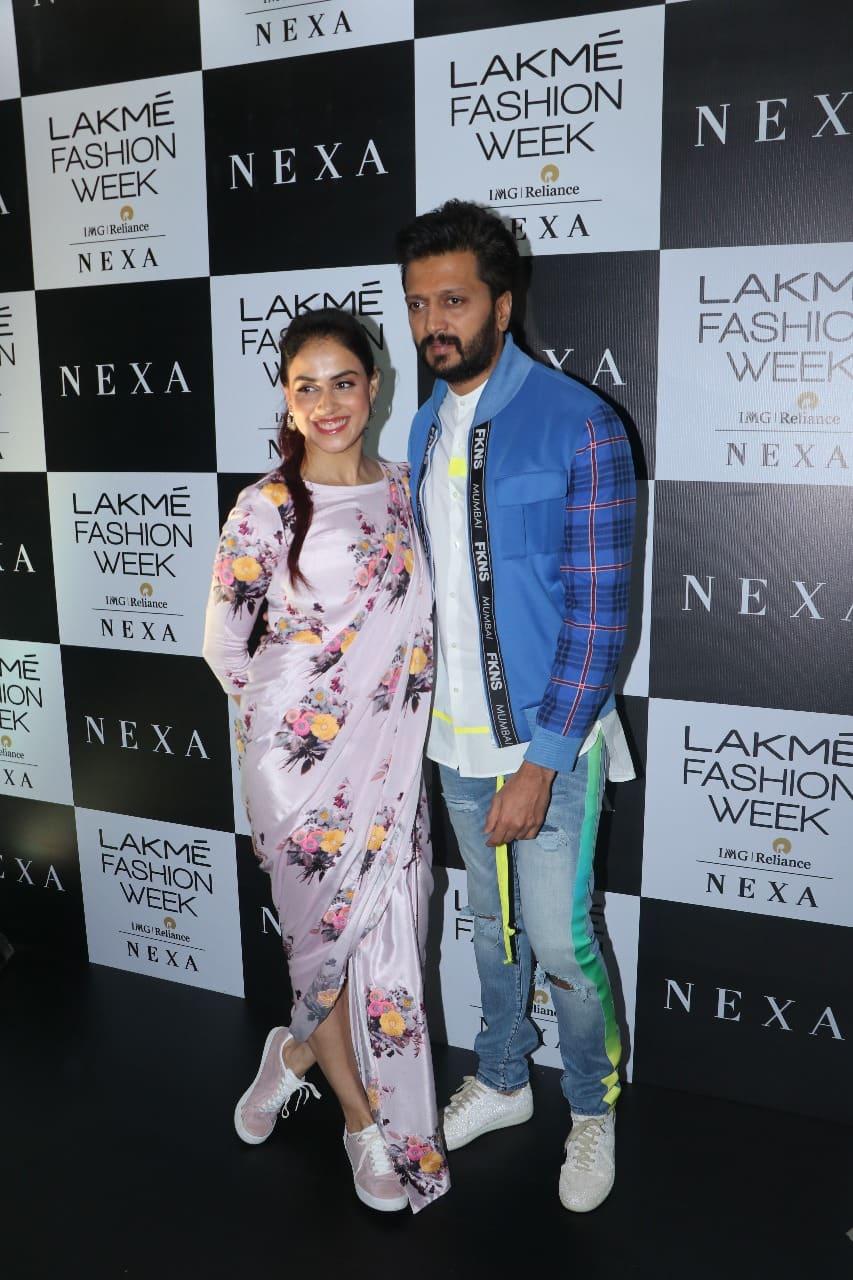Genelia D'Souza Jut Showed Us The Coolest Way To Wear A Saree