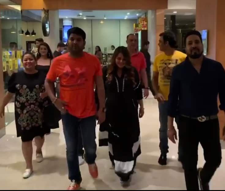 Kapil Sharma Celebrates Wife Ginni Chatrath's Birthday With Bharti Singh, Mika And Jasbir Jassi! Watch Video...