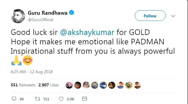 These Twitter Reactions Prove Thar Indian Celebrities Are As Excited About Akshay Kumar's Gold As We Are