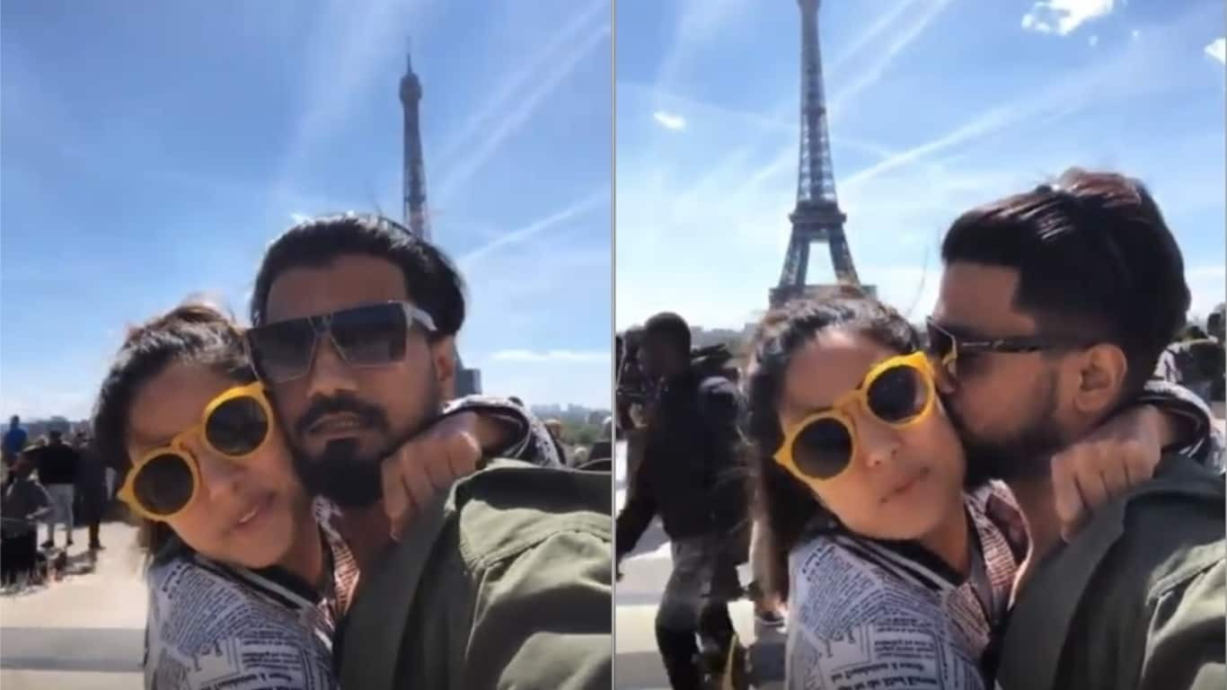 Hina Khan Arrives At Cannes But Not Before A Quick Romantic Getaway To Paris With Boyfriend Rocky Jaiswal