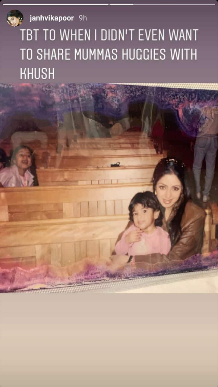 Deepika Shares A Throwback Pic With Ujjala, Anisha; Janhvi Remembers She Didn't Want To Share Sridevi's Hugs With Khushi