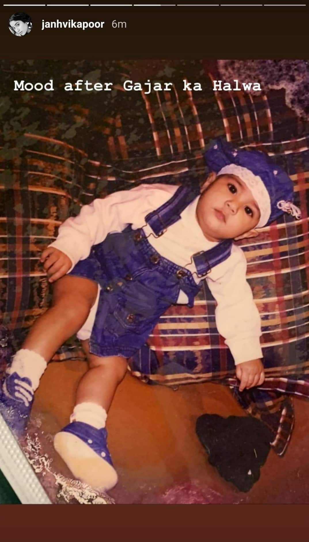Janhvi Kapoor Shares Adorable Childhood Pictures Along With Unseen Snaps Of Sridevi And Boney Kapoor