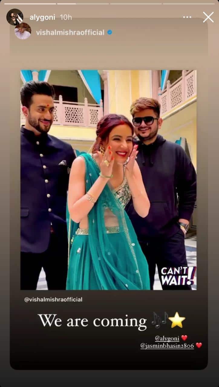 Pavitra Shares Unseen Pictures With Eijaz Khan; Aly Teases Fans With Stills From His & Jasmin's Music Video