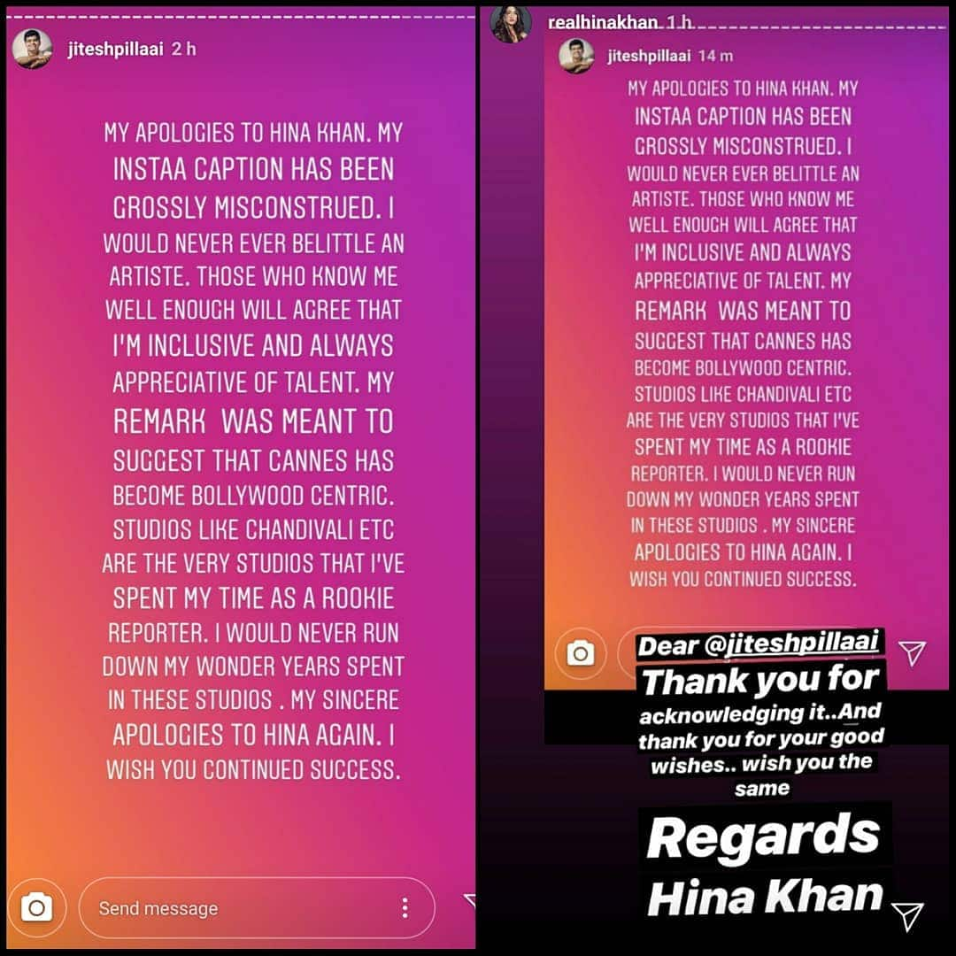 Cannes 2019: Bollywood And TV Celebs Support Of Hina Khan After Magazine Editor Mocks Her Cannes Appearance!