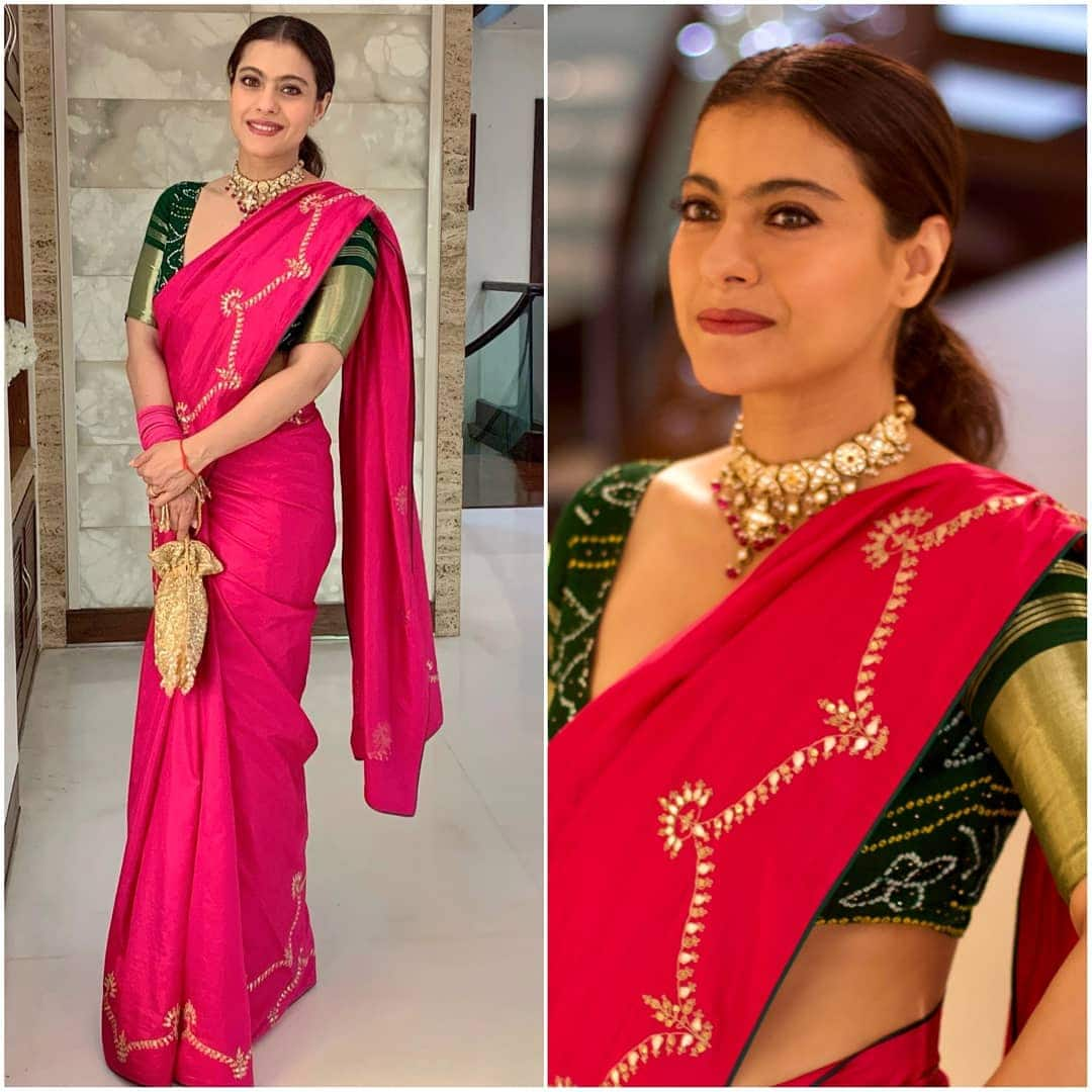Kajol's Desi  Avatar Can Be Your Pick For The Upcoming Diwali Festivities