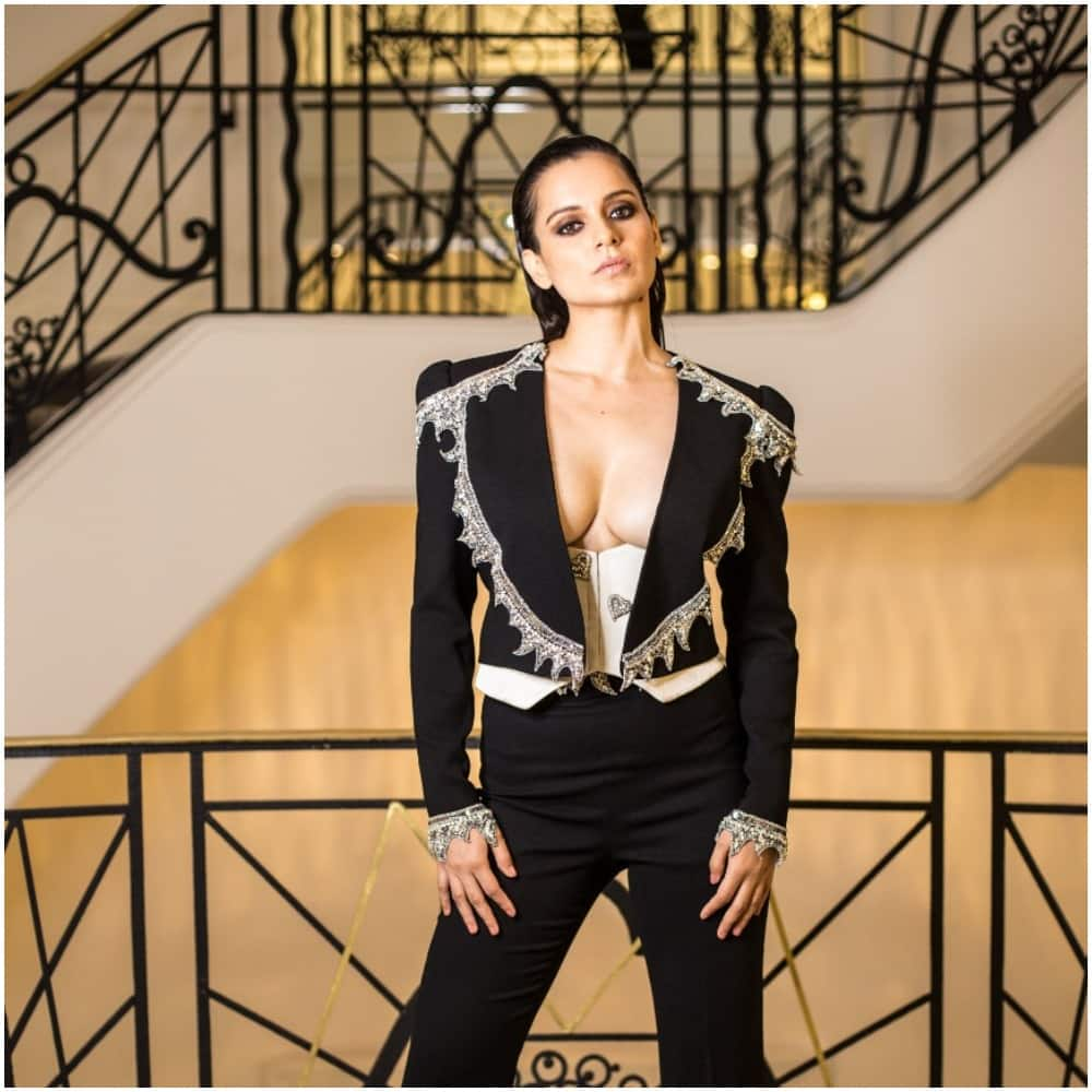 Cannes 2019: Kangana Ranaut Goes Edgy And Sexy In A Pantsuit For The After Party