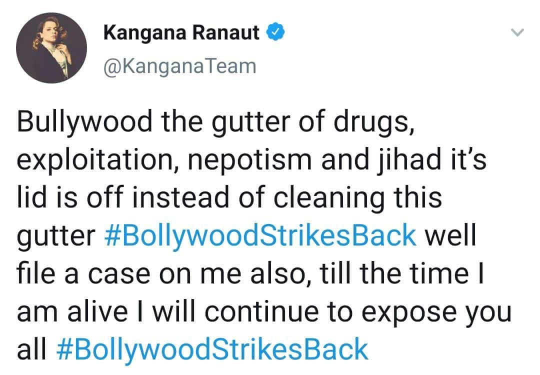 Kangana Ranaut Upset With Production Houses For Filing Suit Against Media Houses; Says 'File A Case On Me Also'