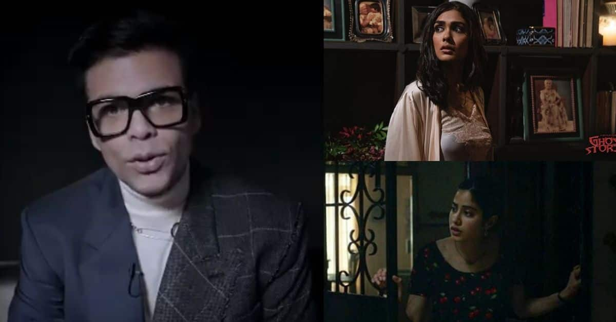 Karan Johar Says He Did Not Enjoy Making Ghost Stories , Says It Was Difficult For Him