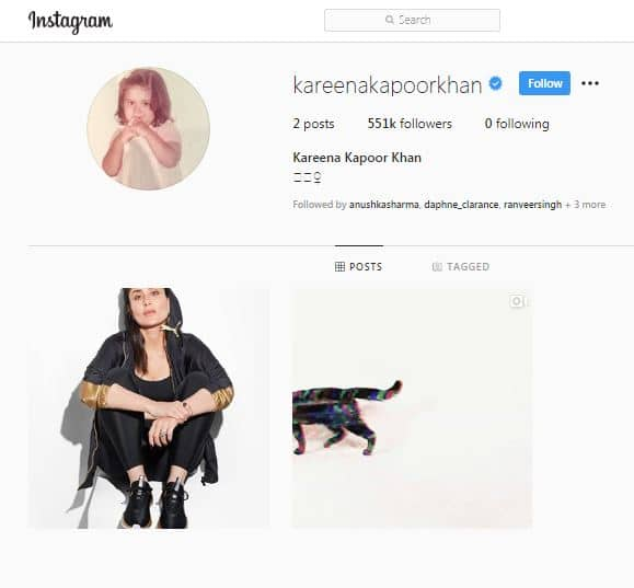 Kareena Kapoor Says Hello To Instagram With An Alluring Photo Of Herself, But It's Her Profile Picture That Has Our Attention