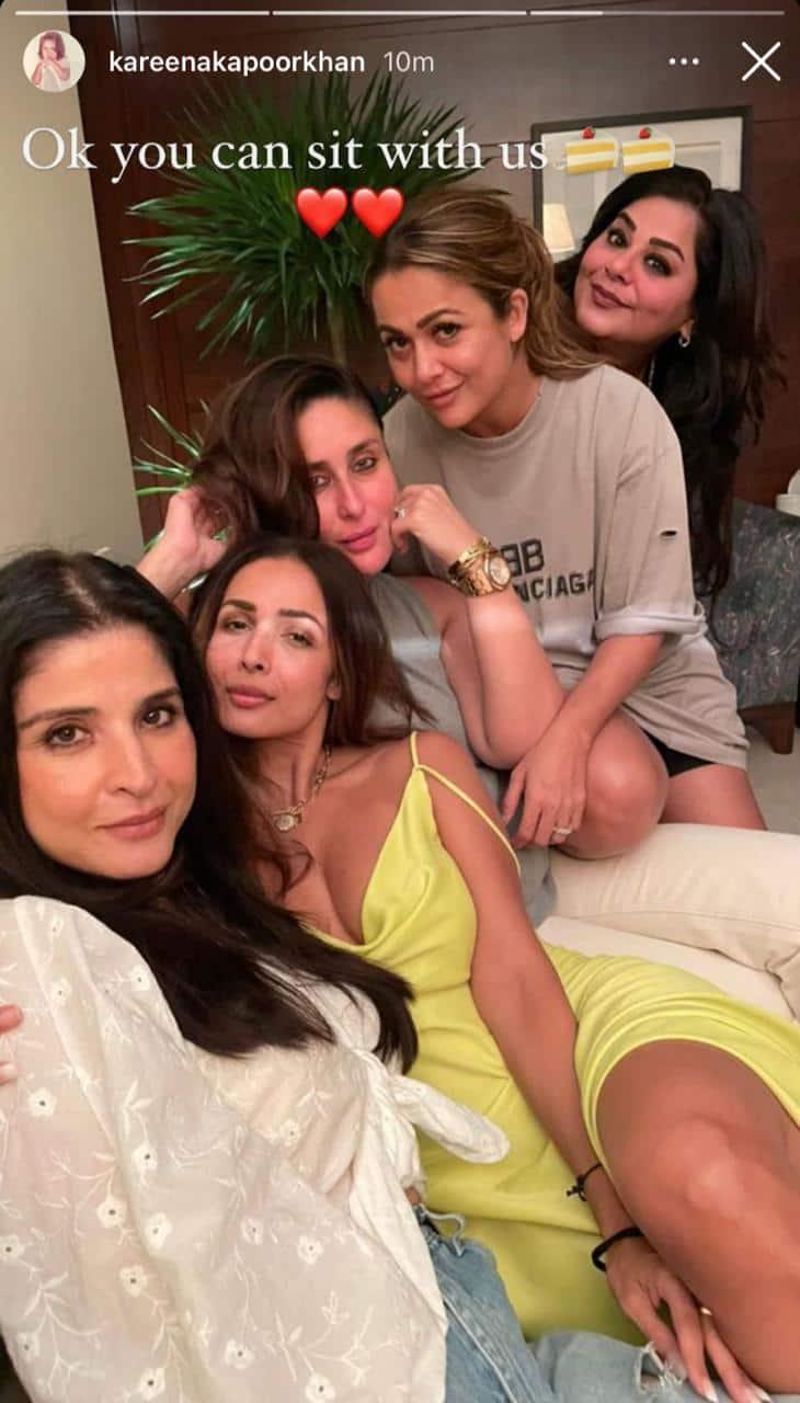 Deepika leaves Ranveer in awe of her silhouette shot; Kareena and Malaika enjoy girls night