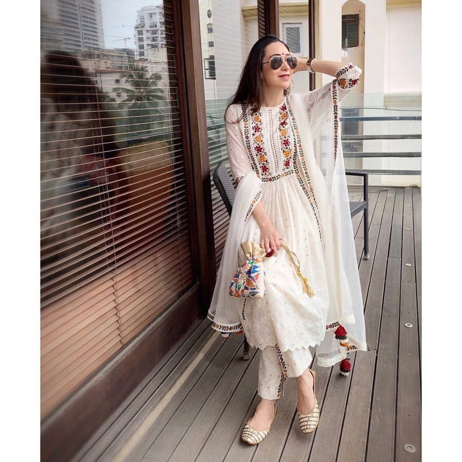 Karisma Kapoor's Stunning White Ensemble Can Be Yours On A Budget