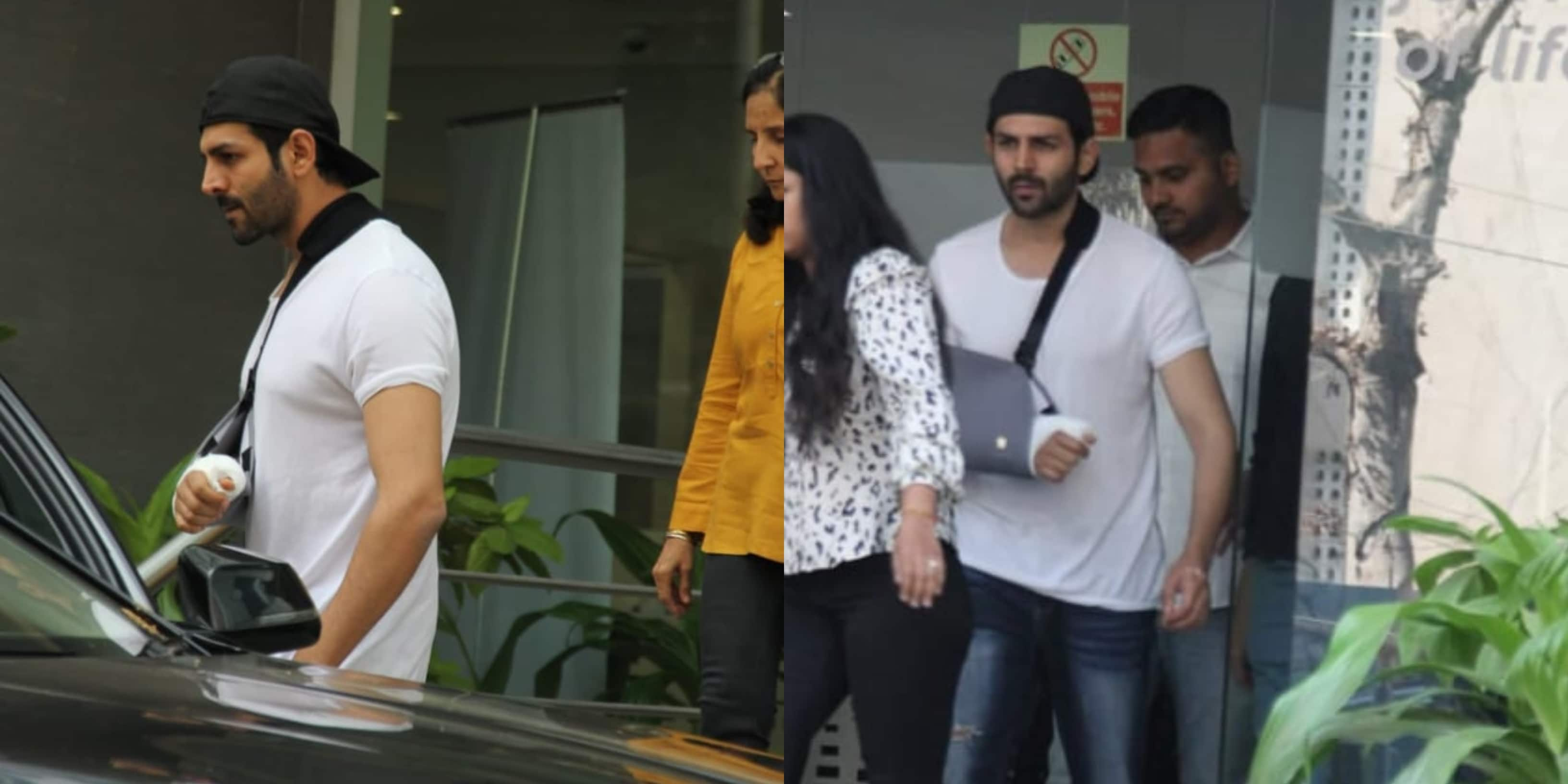 Kartik Aaryan Doesn't Let Work Suffer Even Post Surgery, Seen At IIFA Awards Event Soon After Leaving Hospital