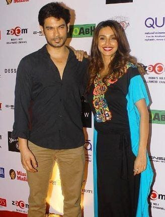 shibani-dandekar-with keith-Sequeira