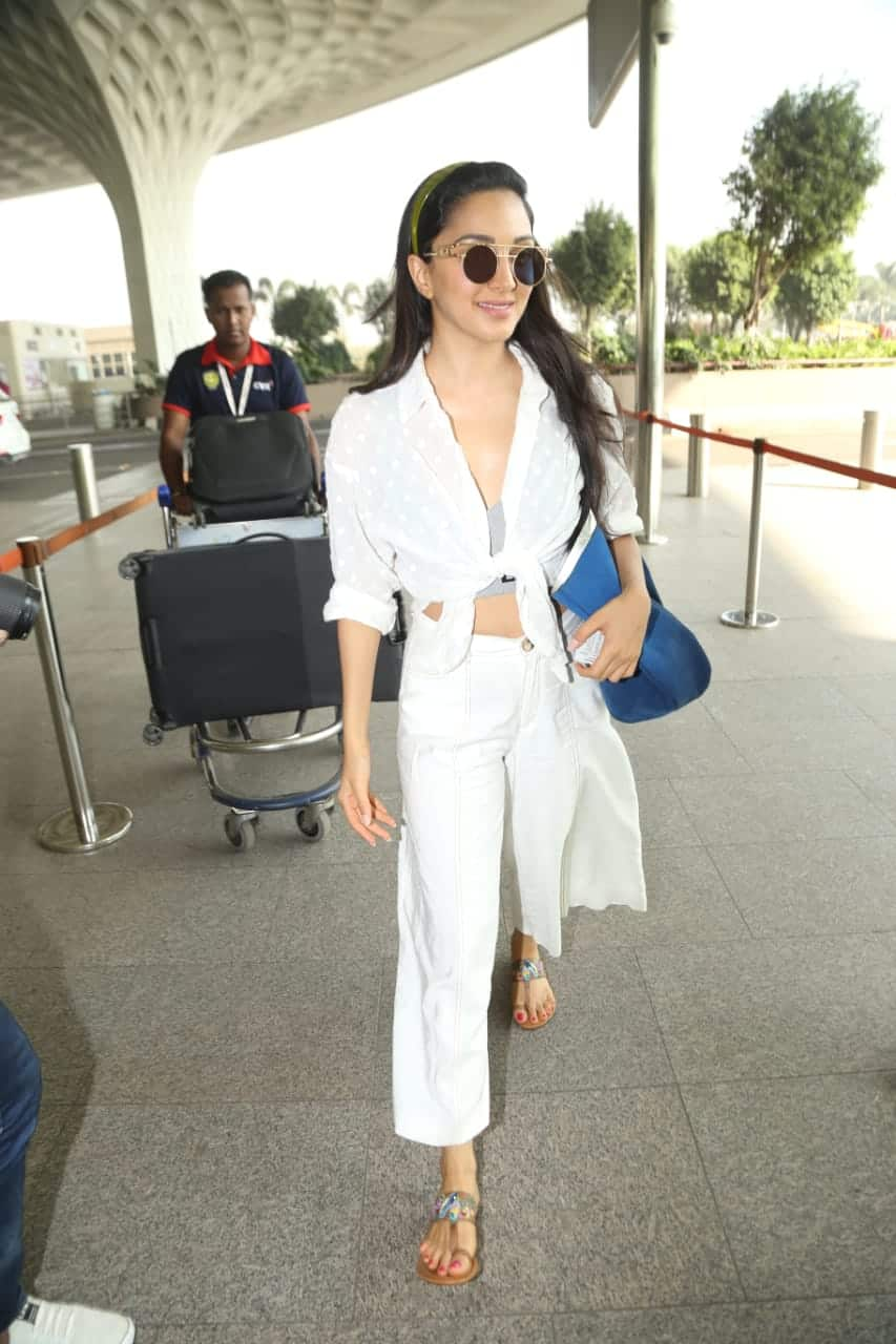 Kiara Advani Looks Gorgeous In A Boho Chic Outfit At The Airport; Get The Look