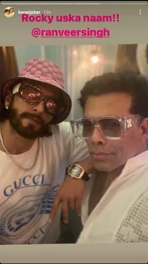 Karan Johar and Ranveer Singh begin Rocky Aur Rani Ki Prem Kahani prep on a stylish note