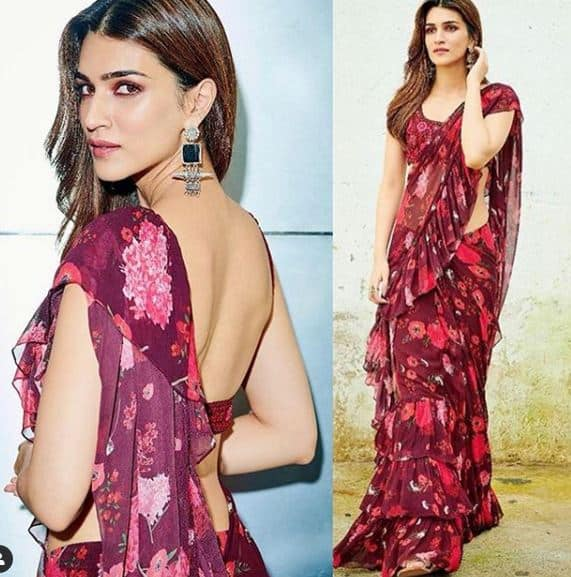 Kriti Sanon's Casual Yet Alluring Saree Look Would Be Perfect For You This Season