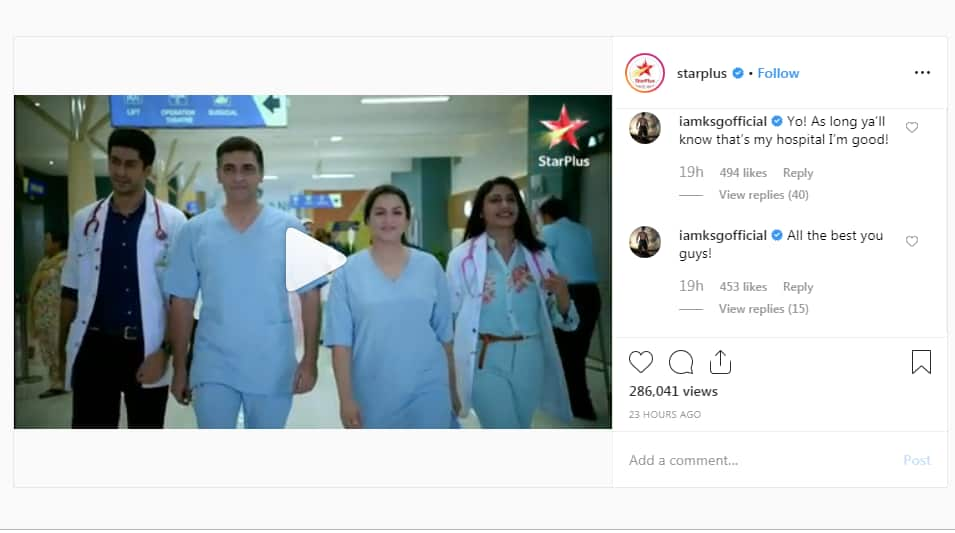 Dill Mill Gayye's Dr. Armaan, Karan Singh Grover, Reminds The Cast Of Sanjivani 2 That It Is 'My Hospital'!