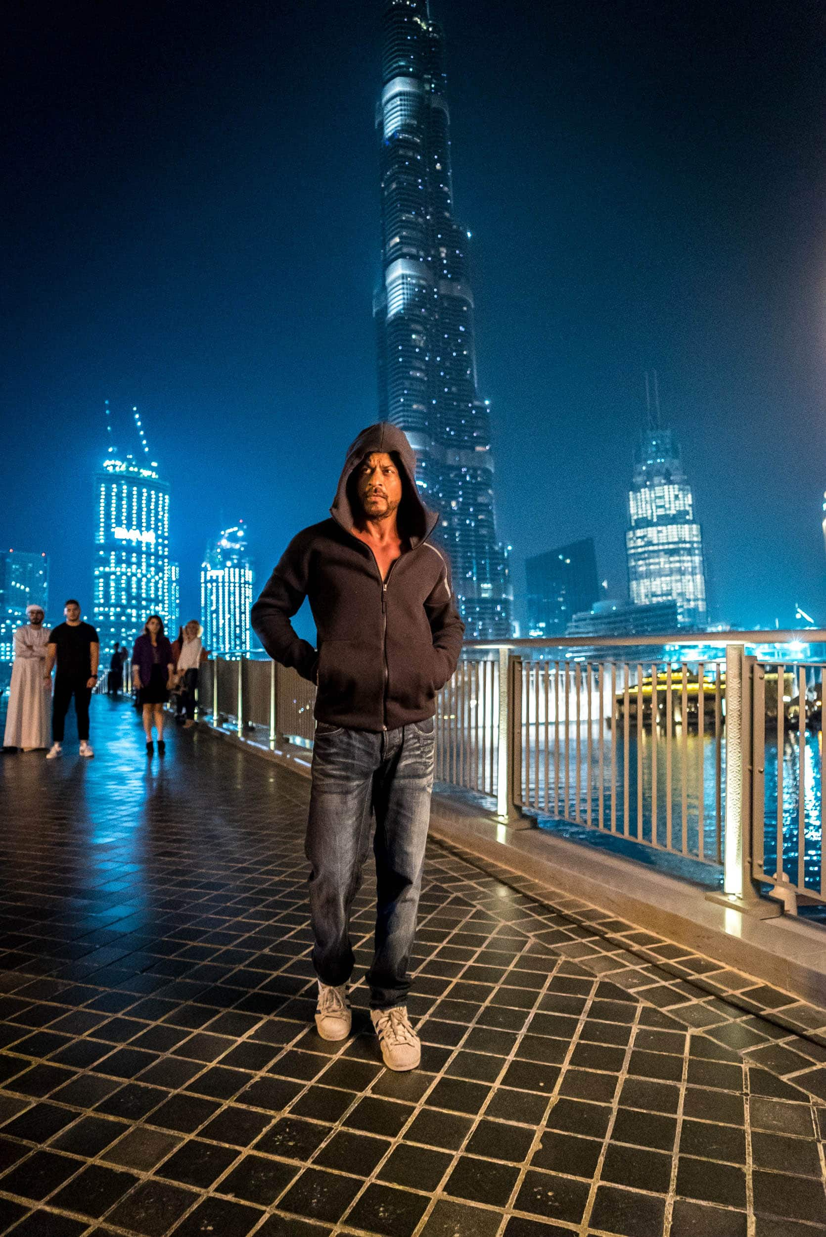 Shah Rukh Khan's Name Lights Up Burj Khalifa On His Birthday, First Indian To Receive The Honor