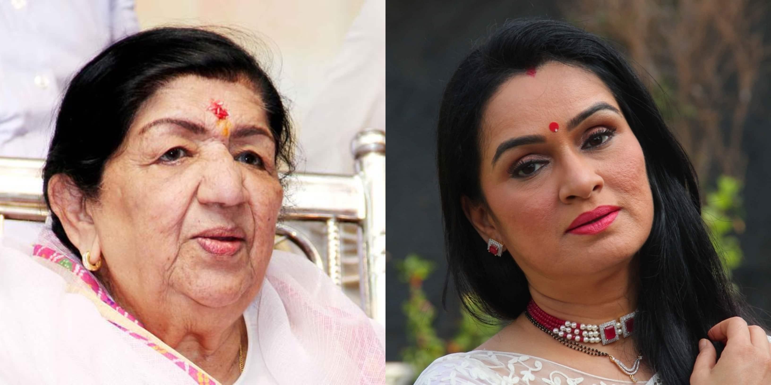 Lata Mangeshkar's Niece Actress Padmini Kolhapure Shares Updates On The Singer's Medical Condition