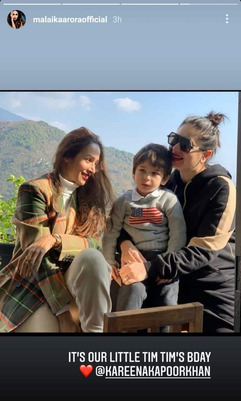 Taimur's Amma Kareena Pens A Heartwarming Note On His Birthday; Malaika, Arjun & Others Shower Blessings