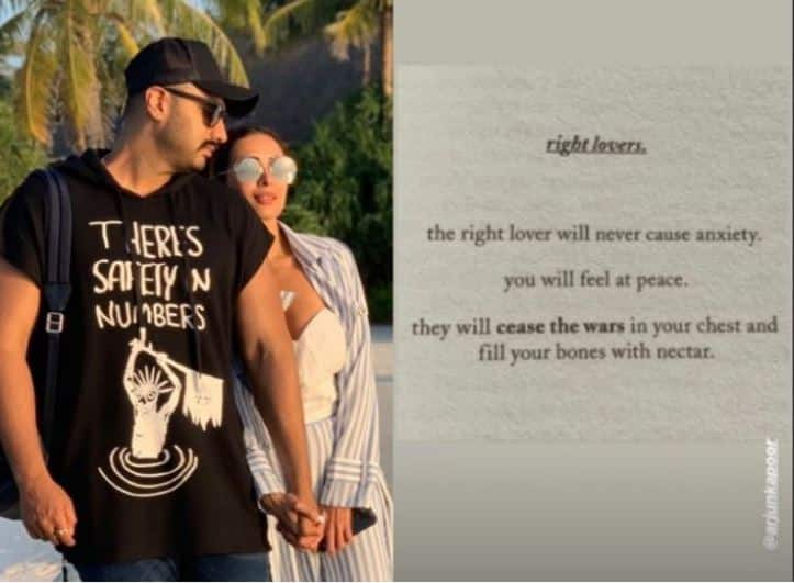 Malaika Arora Feels Arjun Kapoor Is Her 'Right Lover' And We Couldn't Agree More