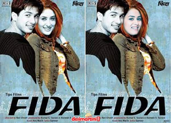 This Is How The Posters Of Shahid Kapoor's Films Would Have Looked If His Real Wifey Mira Rajput Starred In Them