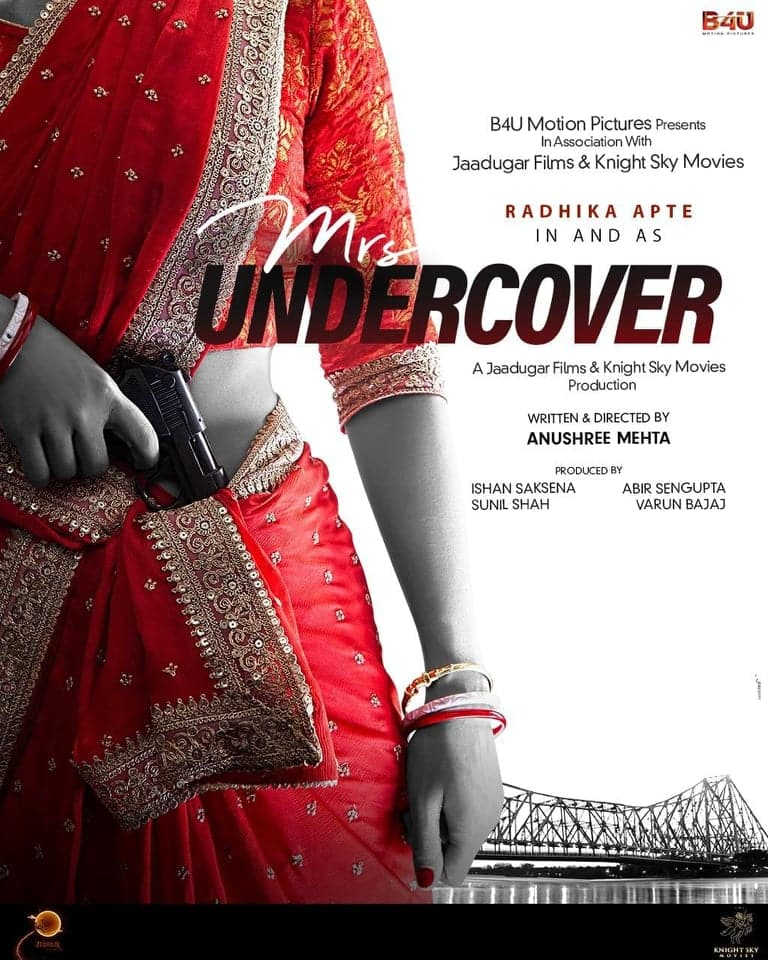 Radhika Apte To Play A Spy In New Film Mrs. Undercover, Makers Announce The Project With An Intriguing Poster