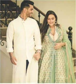 Neha Dhupia And Angad Bedi Are Now The Newest Parents Of Bollywood