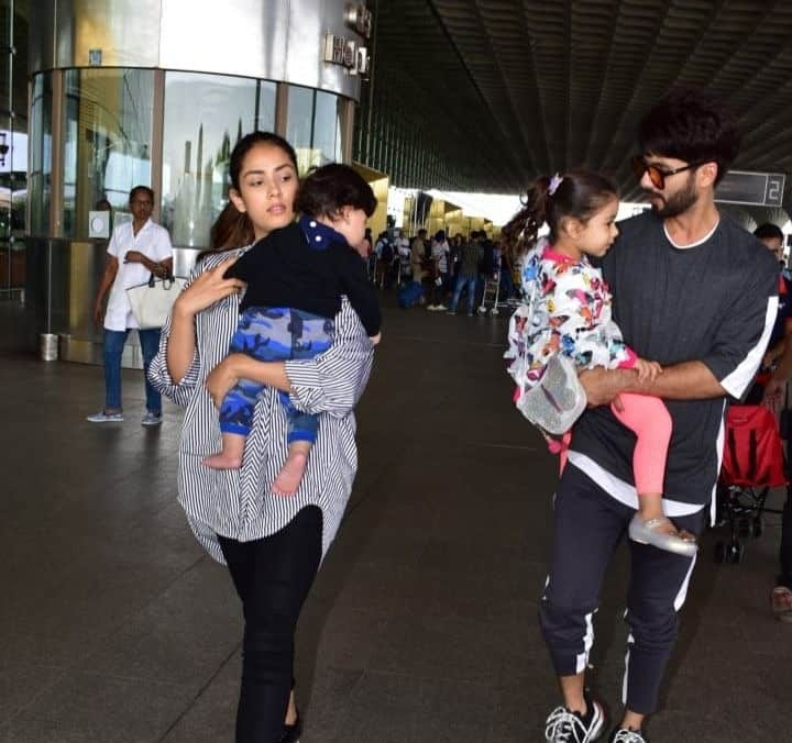 Shahid Kapoor And Mira Rajput Hire Kareena's Nanny For Tamiur? This Airport Picture Suggests So!