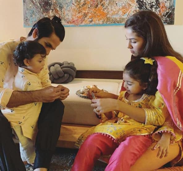 Shahid Kapoor's Kids Zain and Misha Kapoor Celebrating Their First Rakhi Is Just Too Cute To Handle