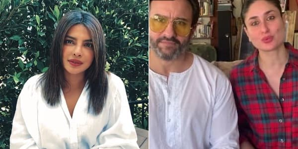 I For India: Priyanka Chopra Focuses On Safety Of Health Professionals, Saif-Kareena Draw Attention To The Underprivildeged