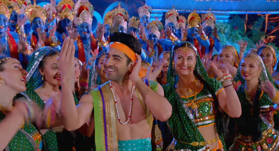 Dream Girl's Radhe Radhe Song Makes Us Wonder If It's The Only Time Ayushmann Would Play A Guy In The Film!