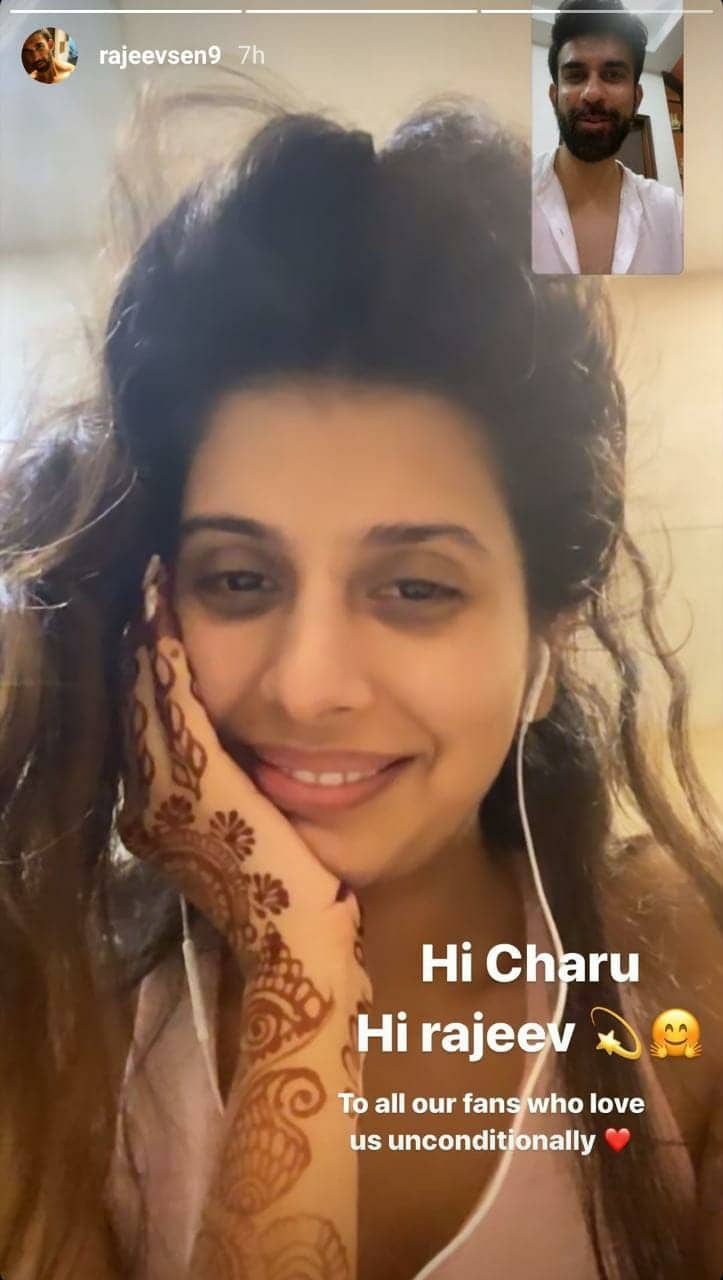 Rajeev Sen Video Calls Wife Charu Asopa A Day After She Says 'Why Did He Leave Me To Live On My Own'
