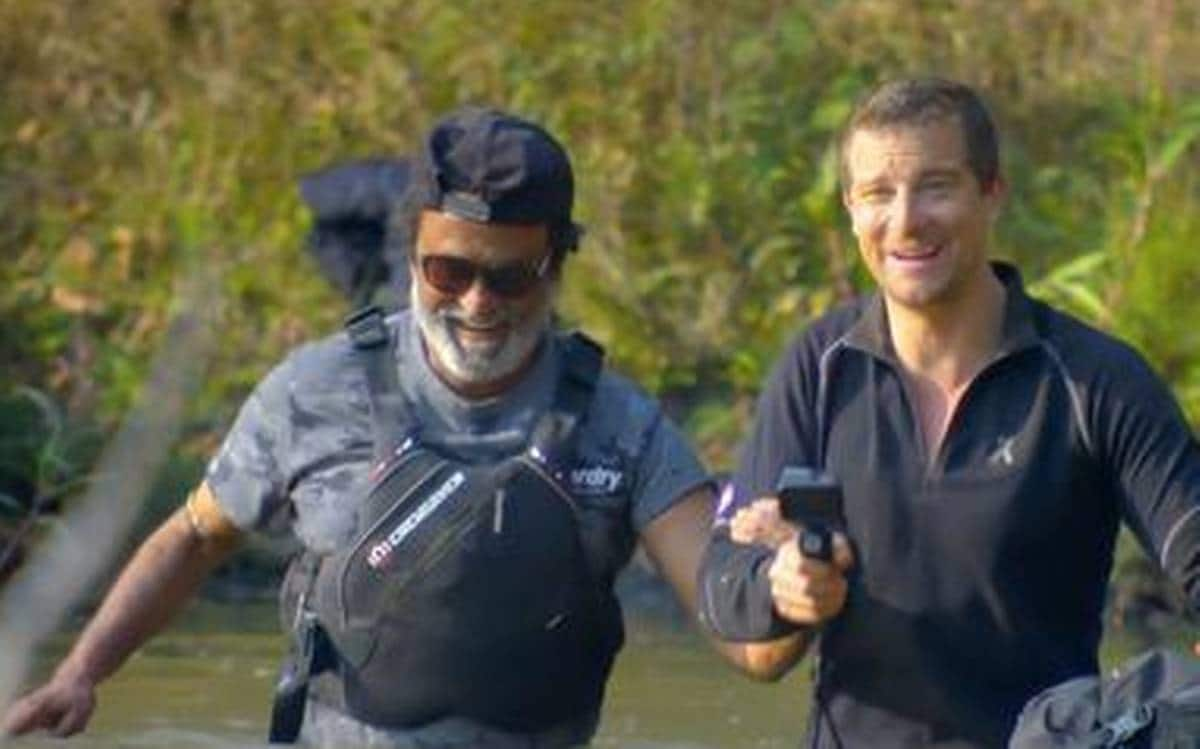 Rajinikanth's Television Debut On Into The Wild With Bear Grylls Is A TV Rating Topper