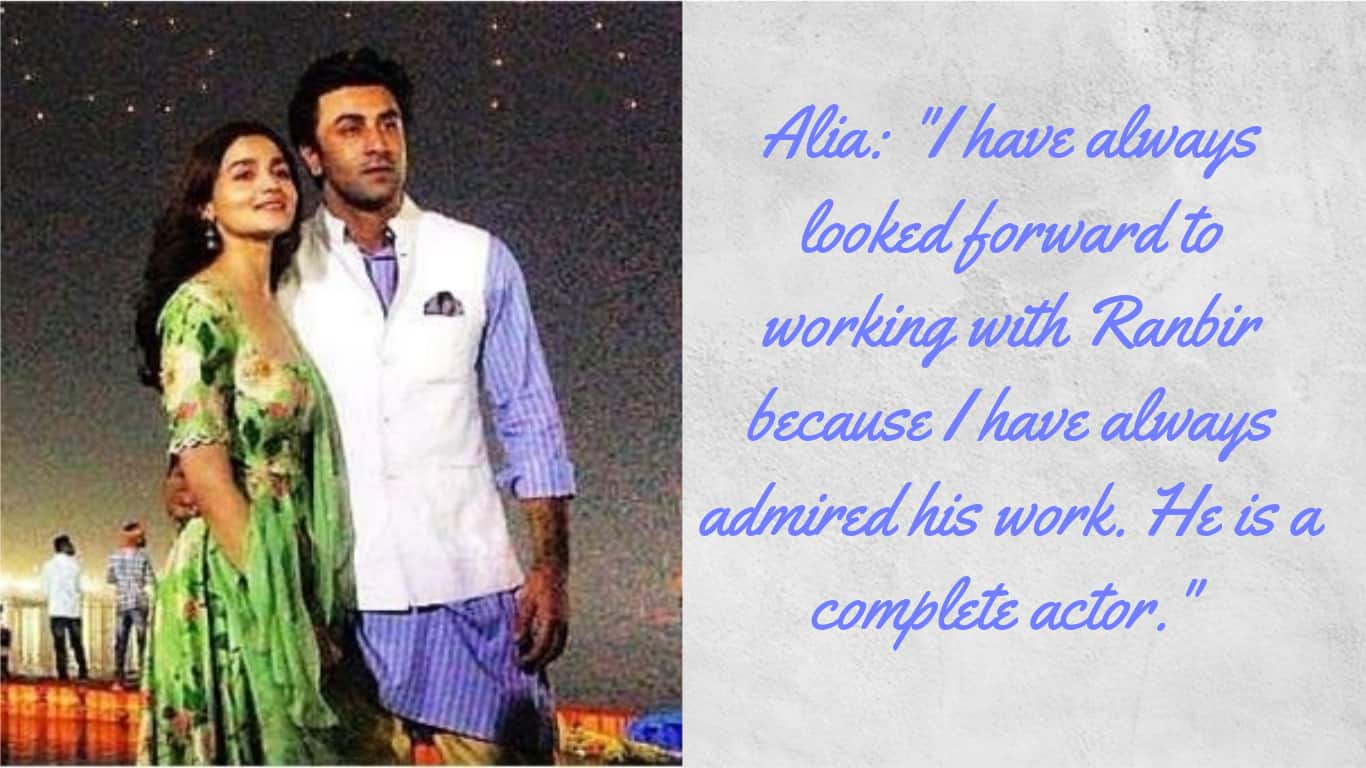 5 Times Alia Bhatt And Ranbir Kapoor Were Each Other's Biggest Fan Instead Of Being Just Lovers