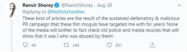 Ranvir Shorey Alleges He Was Abused In Relationship With Pooja Bhatt; Calls Out Malicious Campaigns Of 'Bollywood Moguls'