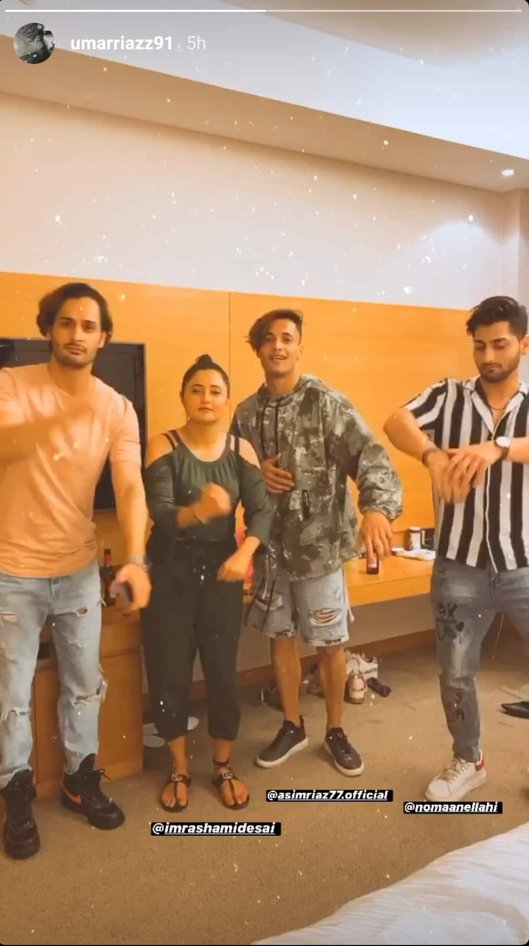 Bigg Boss 13: Rashami Parties With Asim, Himanshi; Takes A Dig At Sidharth With A Hilarious Video