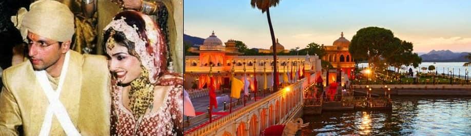 सिर्फ प्रियंका चोपड़ा नहीं बॉलीवुड के इन सेलेब्स ने भी की है उदयपुर में शादी !