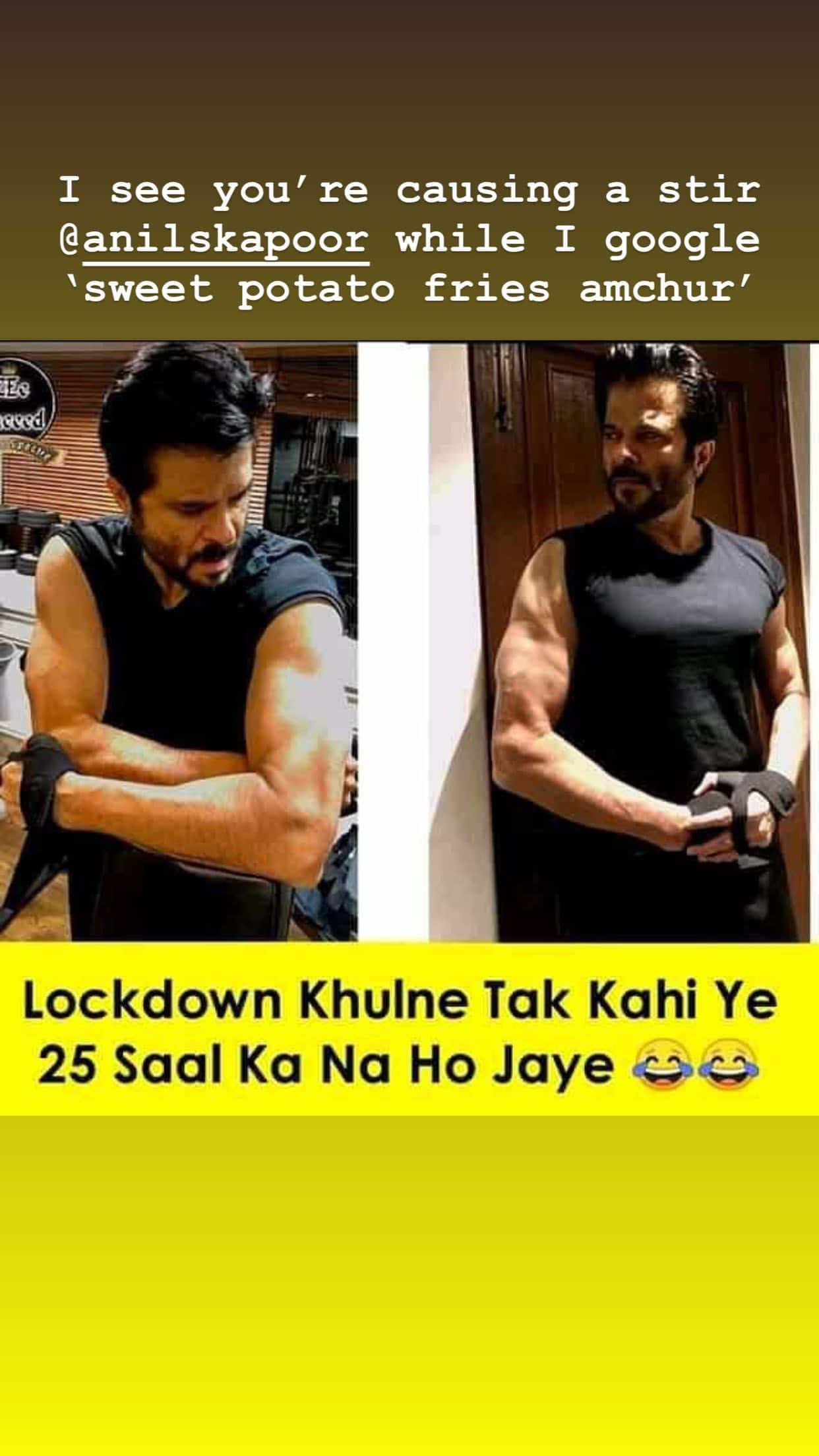 Amitabh Bachchan Tries To Compete With Bikini Pics; Rhea Jokes Anil Kapoor Might De-Age To 25 By The End Of The Lockdown