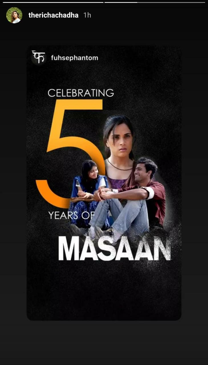 Vicky Kaushal, Richa Chadha, Shweta Tripathi Celebrate 5 Years Of Masaan With Special Posts; Check It Out