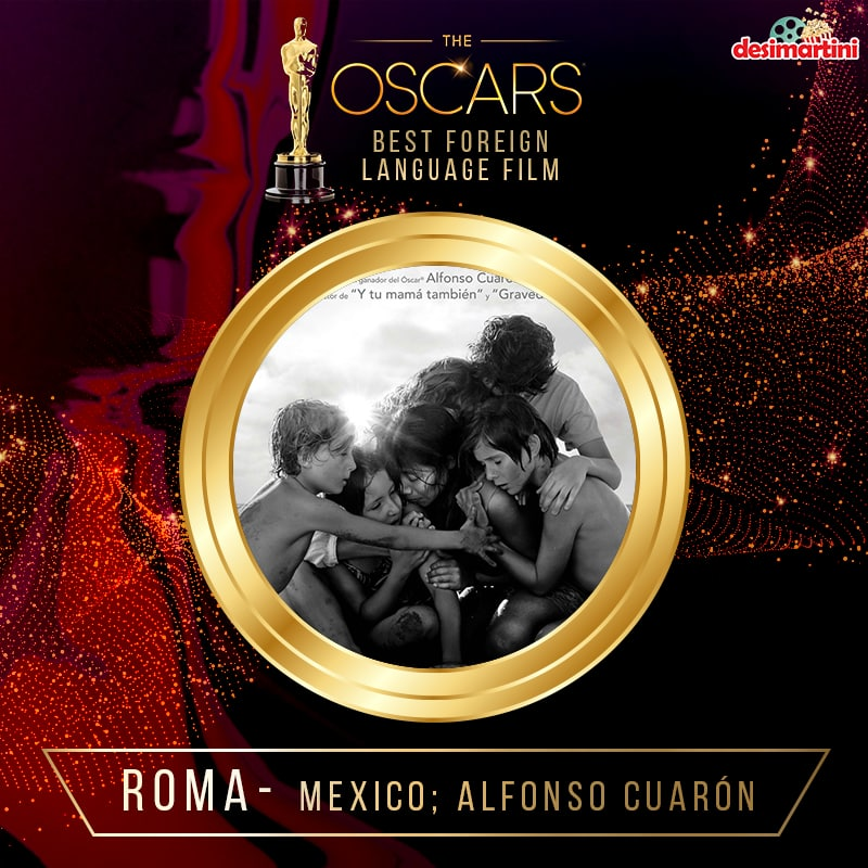 2019 Oscars - Roma Wins Best Foreign Film